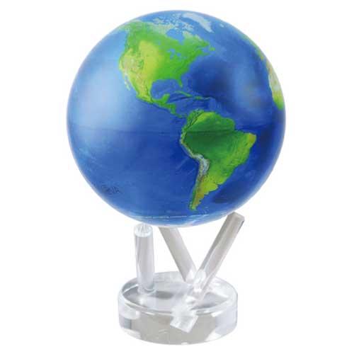 MOVAグローブ 地球儀 11cm Natural Earth MG45STENE ほんまでっかTV 明石家さんま ベストバイ ホンマでっかTV 回転