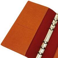 【Knox/ノックス】バイブルサイズ6穴カロス(KALOS)リング径13mm【オレンジ】システム手帳バインダー124-690-42【あす楽対応】