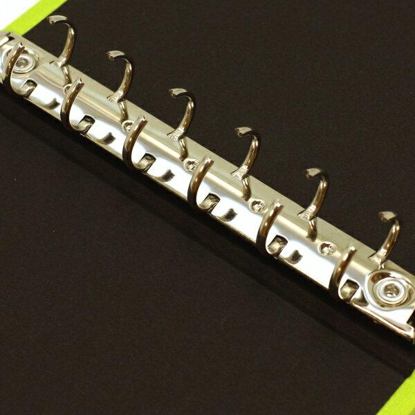 【Ashford/アシュフォード】ミニ6穴 ローブ リング径15mm【イエロー】システム手帳バインダー 1703-088 【あす楽対応】