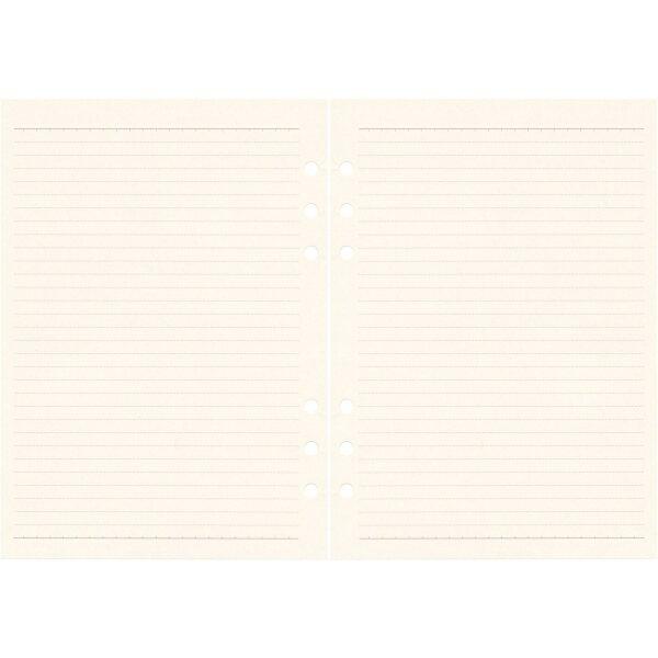 【etranger di costarica/エトランジェ・ディ・コスタリカ】A5サイズ 6穴 リフィル 横罫【アイボリー】システム手帳リフィル A5RF-D-02 【あす楽対応】