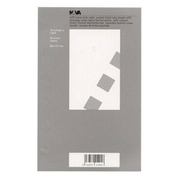 【NAVA/ナヴァ】ミニ6レフィル2/lined note RM-19-003 【あす楽対応】