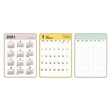 2021年 A6 カスタムダイアリーステッカーズ 【カラーズ】 CD-1033-HT【あす楽対応】