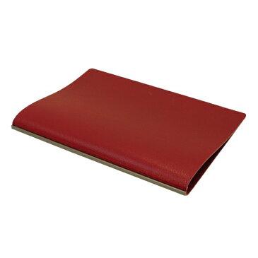 【Knox/ノックス】A5サイズ LUFT/ルフト02ナチュラルシボ型押し 本革 リング径11mm【レッド】システム手帳 101-805-40 【あす楽対応】