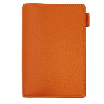 【Ashford/アシュフォード】ミニ6穴サイズ シルフ ノート リング径11mm【オレンジ】システム手帳バインダー 1224-084 【あす楽対応】