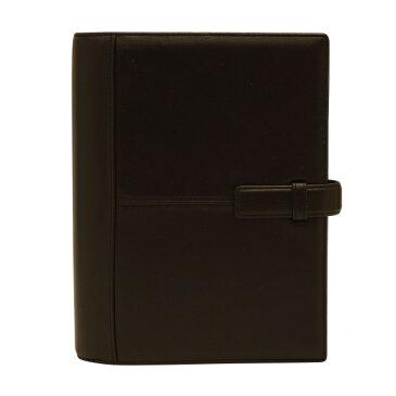 【フランクリン・プランナー】A5サイズ ポラリス シープスキン リング径20mm【ブラック】システム手帳バインダー 64111 【あす楽対応】