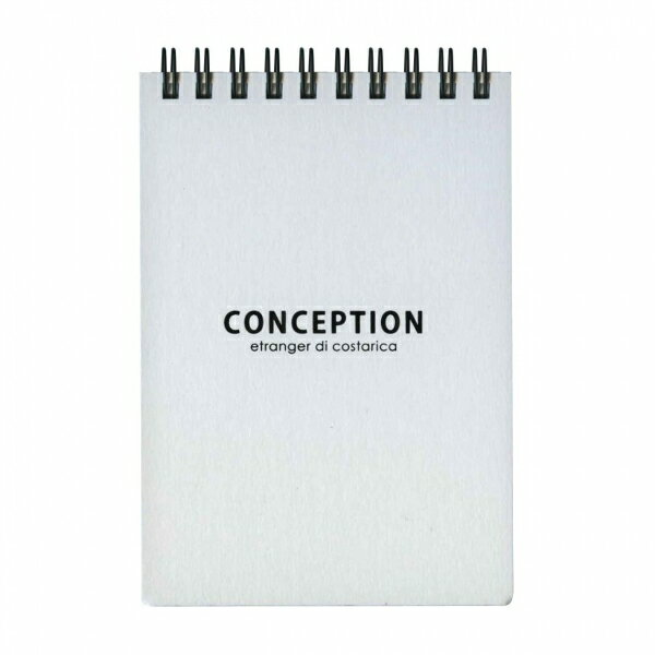 CONCEPTION B7リングメモ 100シート 方眼【ホワイト】 CON-29-01【あす楽対応】画像