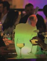ワインクーラーになるLED照明です。