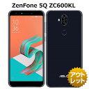 【非常に良い】【SIMフリー】ZenFone 5Q ZC600KL SIMフリー 白ロム 本体 スマホ Rakuten UN-LIMIT 対応