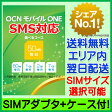【最短120分で発送】OCN モバイル ONE SMS対応SIM 【SIMアダプタ+SIMケース付き】 / OCN モバイル ONE SIMカード OCN モバイル ONE LTE OCN モバイル ONE SIMフリー OCNモバイルONE 標準SIM マイクロSIM ナノSIM