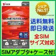 【最短120分で発送】OCN モバイル ONE 音声対応SIM 【SIMアダプタ+SIMケース付き】 / OCN モバイル ONE SIMカード OCN モバイル ONE LTE OCN モバイル ONE SIMフリー OCNモバイルONE 標準SIM マイクロSIM ナノSIM