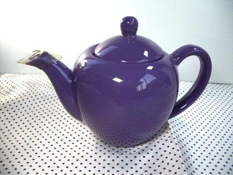 Art パープルコーヒーポット・ティーポット [美濃焼/日本製/陶磁器/洋食器/洋風/紫/かわいい/カフェ/おしゃれ/ブランド/紅茶/アウトレット]