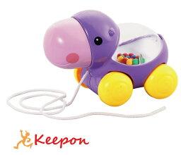 おさんぽアニマル かばおもちゃ ガラガラ 幼児 赤ちゃん ベビー アーテック