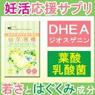DHEA・ジオスゲニン・葉酸・ヘム鉄・含流アミノ酸の山芋習慣