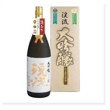【お歳暮】【日本酒ギフト】モンドセレクション11年連続金賞受賞!渓流 大吟醸 1800ml