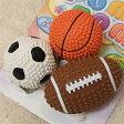 PLATZプラッツポムポムスポーツボール3個セット【犬用品】【おもちゃ】【ラテックス】