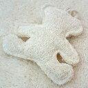ポンポリース デンタルヘチマTOY 森のアニマル クマ 【おもちゃ】【犬猫用品】【ぬいぐるみ】【デンタルケア】