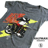 HALFMANハーフマン/RISINGGENERAL/レディースTシャツ
