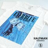HALFMANハーフマン/EVERBLUE/メンズTシャツ白