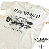 HALFMANハーフマン/THEDRIVE/メンズTシャツ