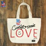 日本限定JUNKFOODジャンクフード/CALIFORNIAカリフォルニア/キャンバストートバッグ(Big)