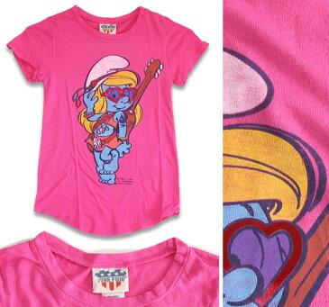 JUNK FOOD ジャンクフード / Smurfette スマーフェット / キッズ Tシャツ 6~7歳