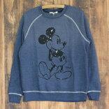 JUNKFOODジャンクフード/STARRYNIGHTMICKEYミッキーマウス/レディーススウェットトレーナー