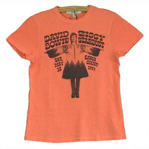 JUNK FOOD ジャンクフード DAVID BOWIE デビットボウイ ジギー・スターダスト レディース Tシャツ
