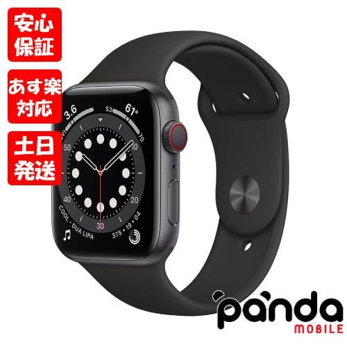 あす楽土日祝日店舗受取可 新品未開封品 Nランク AppleWatchSeries6GPS+Cellularモデル44mmMG