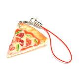 食品サンプル屋さんのストラップ ピザ