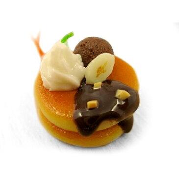 食品サンプル屋さんのストラップ ホットケーキ チョコバナナ