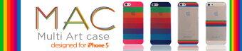 macレインボーケースiPhoneケース