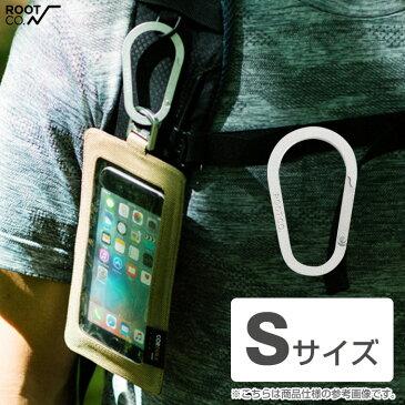 カラビナ ROOT CO. Gravity Carabiner / アルミ S 【 スマホ iPhone スマートフォン 落下防止 キーホルダー ルート コー 】