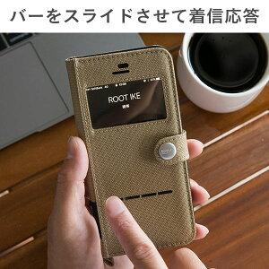 [iPhone7専用]ROOTCO.GravityShockResistDiaryCase./WindowFlip/iPhone7