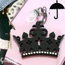 雨の日をちょっとハッピーに★傘チャーム(クラウン/ブラックBNi色)KC-011