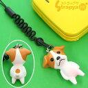 [予約]おなかポッコリ♪お犬様!携帯ストラップ(ジャックラッセルテリア)MA-3301