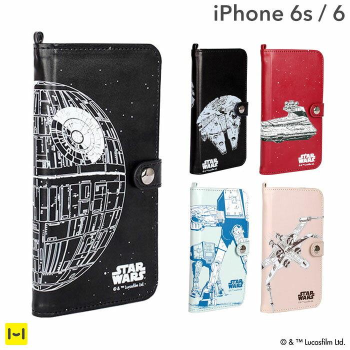 [iPhone6s/6専用]STARWARS ストーリー ブック ケース