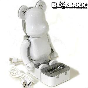 【1koff】BE@RBRICK-ベアブリック-スピーカーシステム(ホワイト)【Apple公認スピーカー】