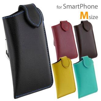 IPhone5s iPhone5c 케이스 부드러운 가죽 멀티 케이스 카라 비 나 (M) (대) fs3gm