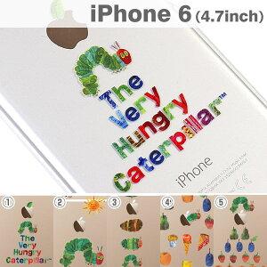 絵本の世界の クリア iPhone ケース iPhone6 ケース かわいい ハード な はらぺこあおむし の ...