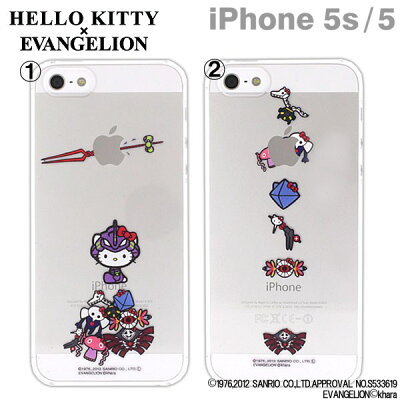 エヴァンゲリオン/初号機キティやリボン使徒キティ?がiPhone5のアップルマークとコラボ!ロン...
