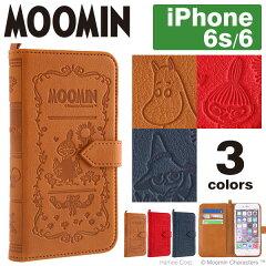 送料無料 iPhone6 iPhone6s ケース ムーミン MOOMIN Notebook Case ノートブックケース 手帳型 【 スマホケース iphone6s 手帳 手帳型ケース カバー レザー キャラクター ムーミン ミイ iPhone 6 アイフォン6 icカード レザーケース iPhoneケース 】