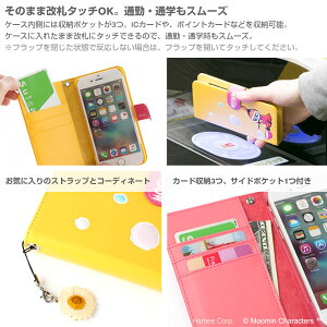 [iPhone6s/6専用]ムーミン3D-POPダイアリーケース