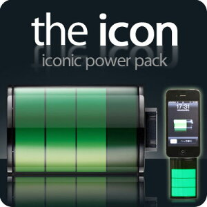 iPhone4/3G[S]・iPod専用!充電アイコンの形をした★the icon充電器【iPhone便利グッズ】【アク...