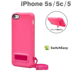 [iPhone 5/5s/5c専用]SwitchEasy PLAY ハイブリッドケース(Pink/ピンク)【RCP】【楽ギフ_包装】