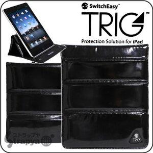 [iPad専用ケース] ケースにもスタンドにもなる! SwitchEasy TRIG for iPad (ブラック)【iPad/...