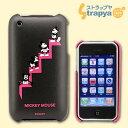 ディズニーiJacket◆iPhone3G/3GS用ケース&液晶保護フィルム(ミッキー/ブラック)RX-IJK423...