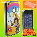 ディズニーiJacket◆iPhone3G/3GS用ケース&液晶保護フィルム(キュービックマウス/グーフィ...