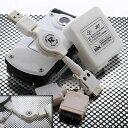 リールコード付きAC+USBマルチ携帯充電器(ホワイト)RX-USA504WH