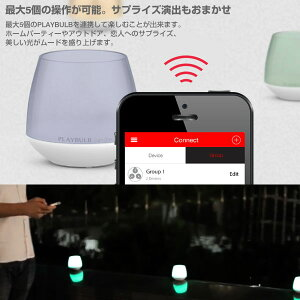 MipowLEDSMARTカラーライト「PLAYBULBcandle」