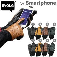 EVOLGスマートフォン対応デザイン手袋 ROYAL【RCP】【楽ギフ_包装】(あす楽対応)